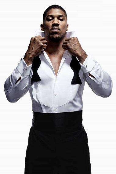 Anthony Oluwafemi Olaseni Joshua, Professional Boxer, I am a work in progress