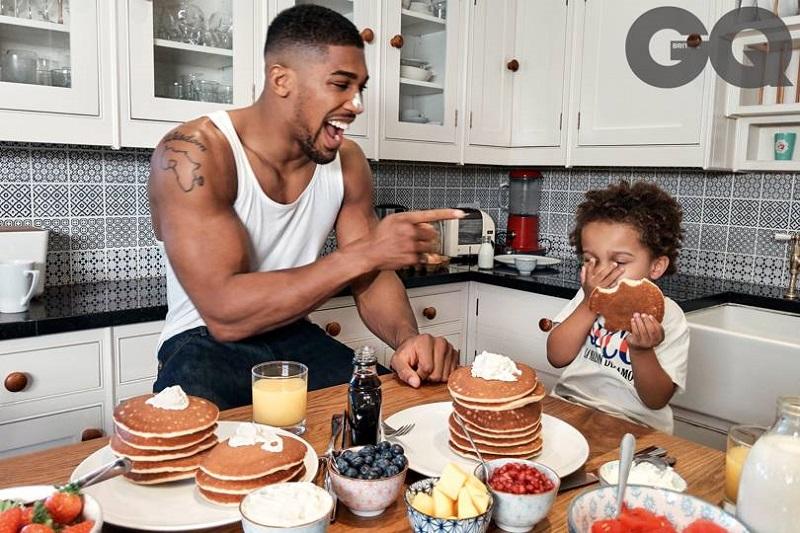 It takes a family to raise a man