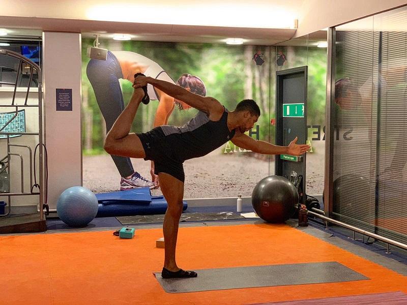 Anthony Joshua's Yoga Flow