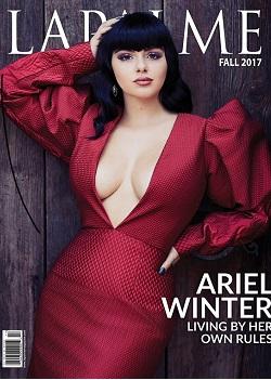 Ariel Winter Debuts Blunt Bangs Hairstyle