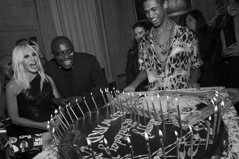 Donatella Versace Hosts Birthday Celebration For Edward Enninful