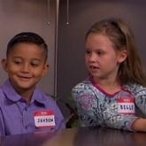Kimmel hosts kids' 'focus group' on female POTUS