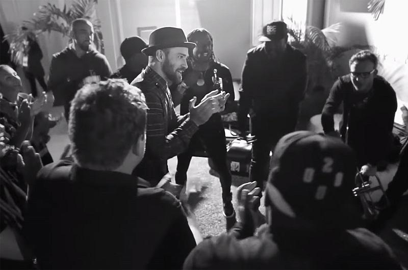 Pepsi Super Bowl Halftime Choreography Justin Timberlake