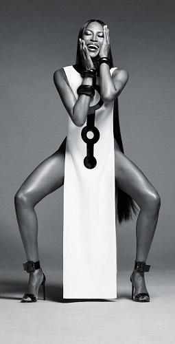 British Vogue contributing editor Naomi Campbell new face of NARSCosmetics