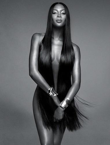 Naomi Campbell British Vogue's Contributing Editor