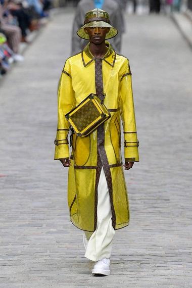 Virgil Abloh's Louis Vuitton Collection at the Place Dauphine in Paris
