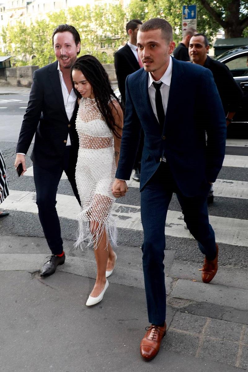 Zoë Kravitz Just Pulled Off The Ultimate Cool Girl Wedding