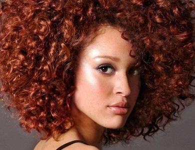 Natural Hair Auburn Twists