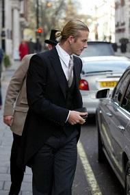 David Beckham, Top Knot