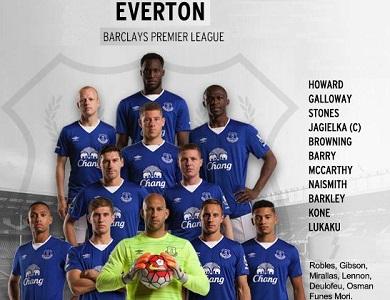 VIDEO: @TimHowardGK at #Everton Team Photo Day