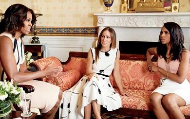 Speaking Truth to Power:  Michelle Obama, Kerry Washington, Sarah Jessica Parker