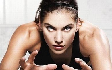 US Women Soccer Team Goal Keeper Hope Solo #1 in the world
