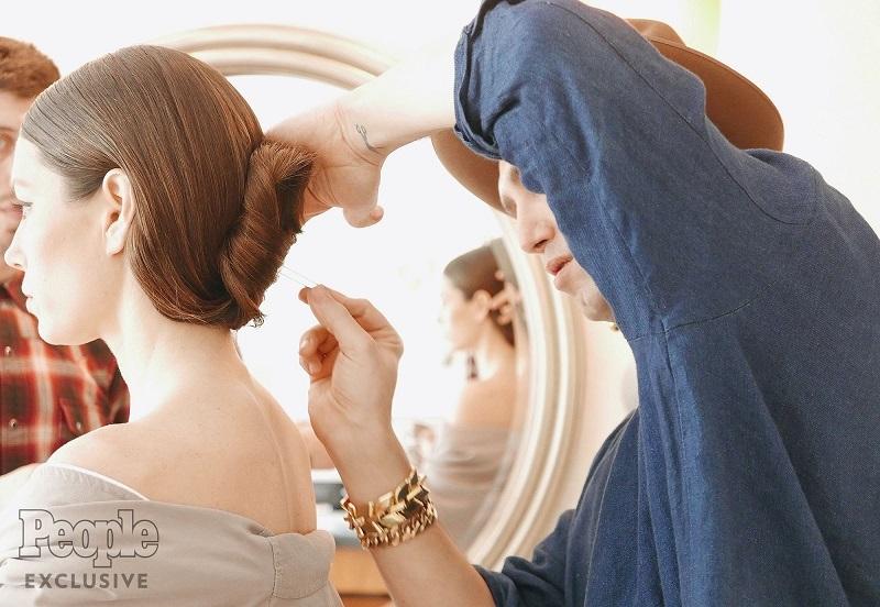 Jessica Biel's Oscar Hair by Adir Abergel