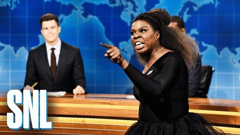 Saturday Night Live Weekend Update: Leslie Jones, Serena Williams, Naomi Osaka