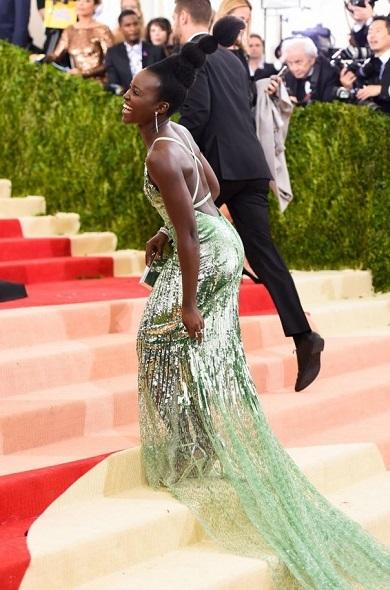 Lupita Nyongo's Homage to African Tribes Met Gala Hairstyle