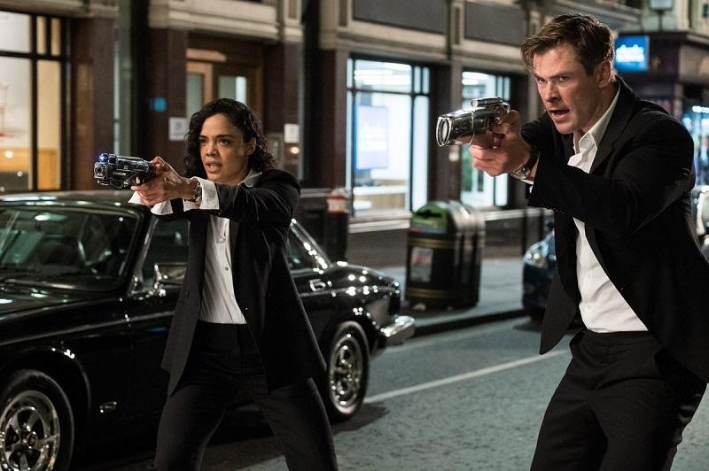 Men in Black trailer: Tessa Thompson and Chris Hemsworth