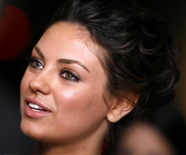 Mila Kunis's Updo Hairstyle
