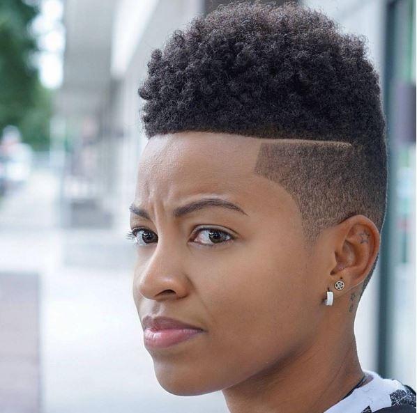 Natural Hair, Fade