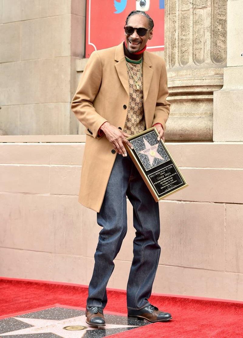 Snoop Dogg Delivered A Major Hollywood Walk Of Fame Speech