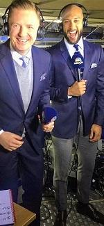 Always good fun working with Arlo White for NBC