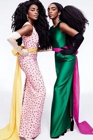 Cipriana and TK Wonder Hair and Fashion