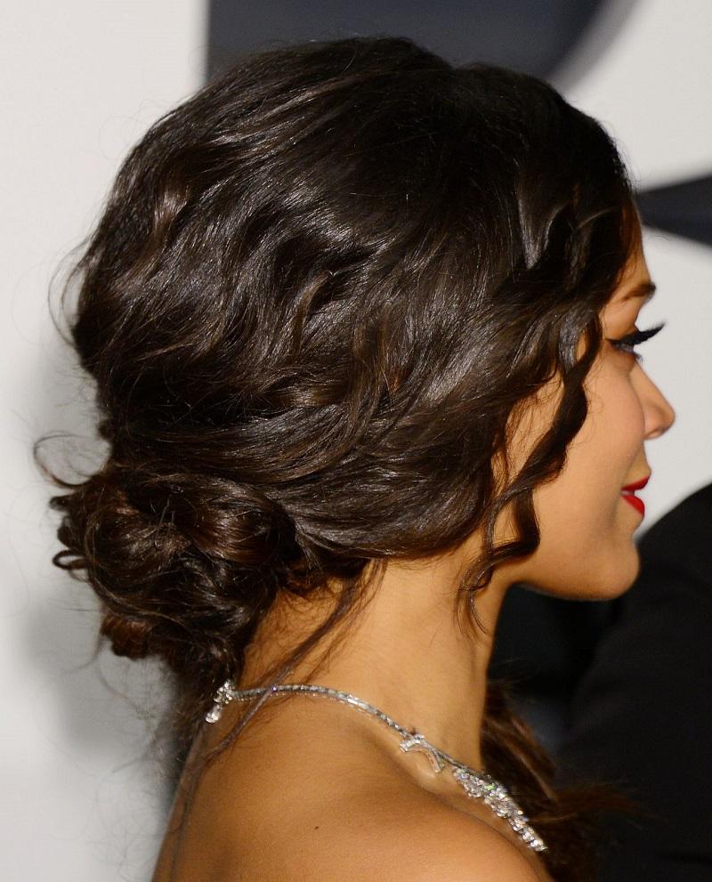 Kate Beckinsale's Fekkai Hairstylist, Adir Abergel, Shares How To Create Her Romantic Chignon Look